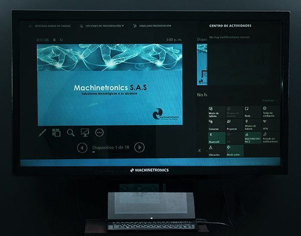 Monitor táctil windows
