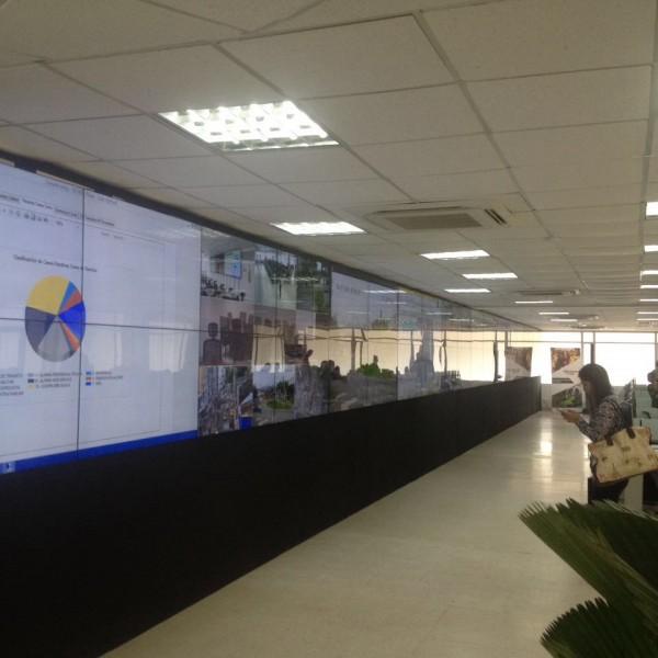 Videowall interactivo