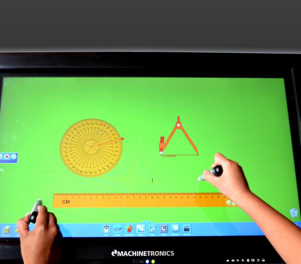 Pizarras interactivas táctiles