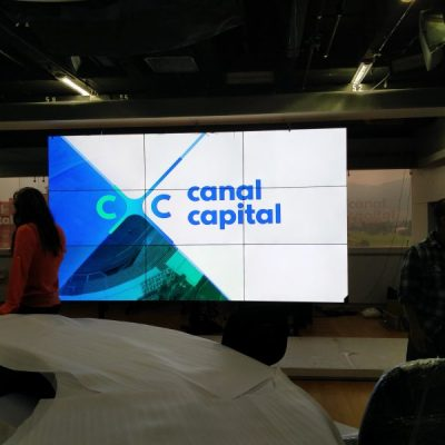 Canal capital videowall noticias