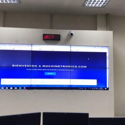 Salas de control y monitoreo Machinetronics